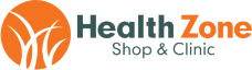 Health Zone Shop and Clinic Logo